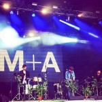 with M+A @ Glastonbury Festival