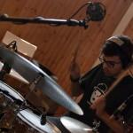 Max Manfredi recording session